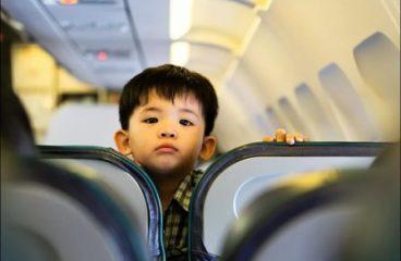 Сопровождение детей в самолете
